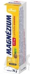 VITAR MAGNÉZIUM 375 mg tbl eff s príchuťou ananásu 1x20 ks