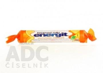 Energit hroznový cukor MULTIVITAMÍN, Pomaranč pastilky 1x17 ks (37,4 g)