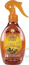 SUN ARGAN OIL opaľovacie MLIEKO SPF 20
