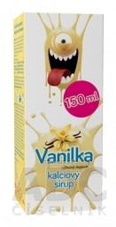 Kalciový sirup Vanilka, VULM 1x150 ml