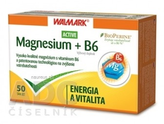WALMARK Magnesium Active + B6