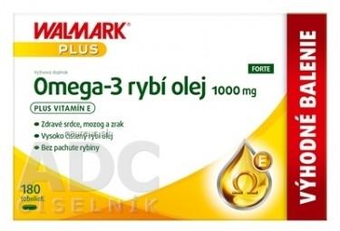 WALMARK Omega 3 rybí olej FORTE