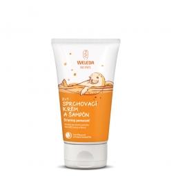 2 v 1 sprchovací krém a šampón Šťastný pomaranč