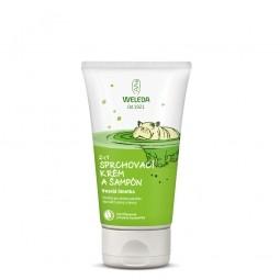 2 v 1 sprchovací krém a šampón Veselá limetka