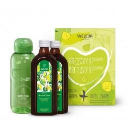 Brezový detoxikačný set s fľašou
