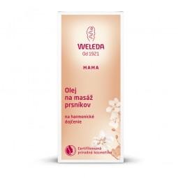 Olej na masáž prsníkov