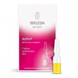 Ružový pleťový olej - 7 dňová vyhladzujúca kúra 7x0,8 ml