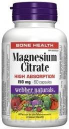 Webber Naturals Magnesium 150 mg cps 1x60 ks