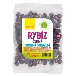 Čierne ríbezle lyofilizované 20 g Wolfberry