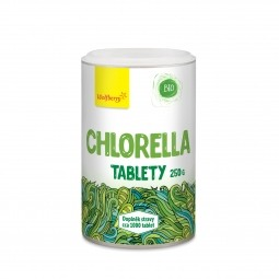 Chlorella BIO 250 g 1000 tbl Wolfberry PDZ *