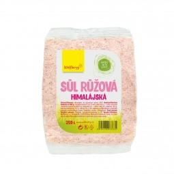 Himalájska soľ ružová 250 g Wolfberry