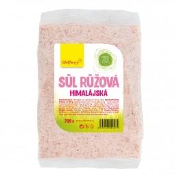 Himalájska soľ ružová 700 g Wolfberry v sáčku