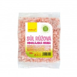 Himalájska soľ ružová hrubá 250 g Wolfberry