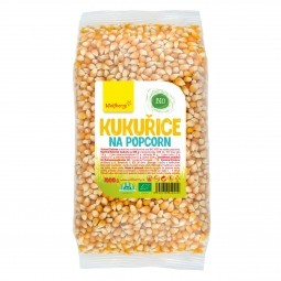 Kukurica na popcorn BIO 1000 g Wolfberry