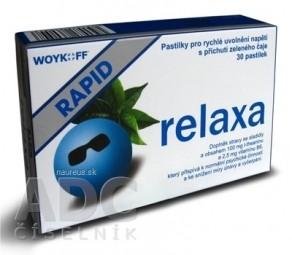 relaxa RAPID - Woykoff pastilky 1x30 ks