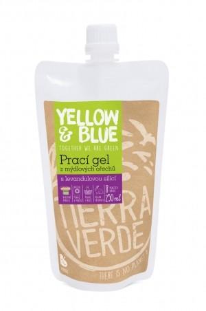 Prací gél z mydlových orechov s levanduľovou silicou 250 ml (vrecko uzáver)