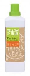 Prací gél z mydlových orechov  s pomarančovou silicou 1 l (fľaša)