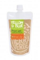 Prací gél z mydlových orechov  s pomarančovou silicou 250 ml (vrecko uzáver)