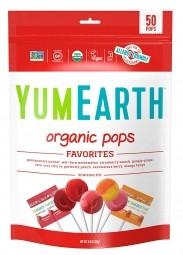 Lízanky ovocné organické 85 g (14 ks) BIO