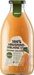 zdravo 100% HRUŠKOVO-JABLKOVÁ ŠŤAVA