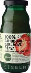 zdravo 100% JAHODOVO-JABLKOVÁ ŠŤAVA