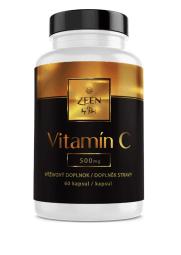 Kapsuly Vitamín C 500 mg, 60 ks