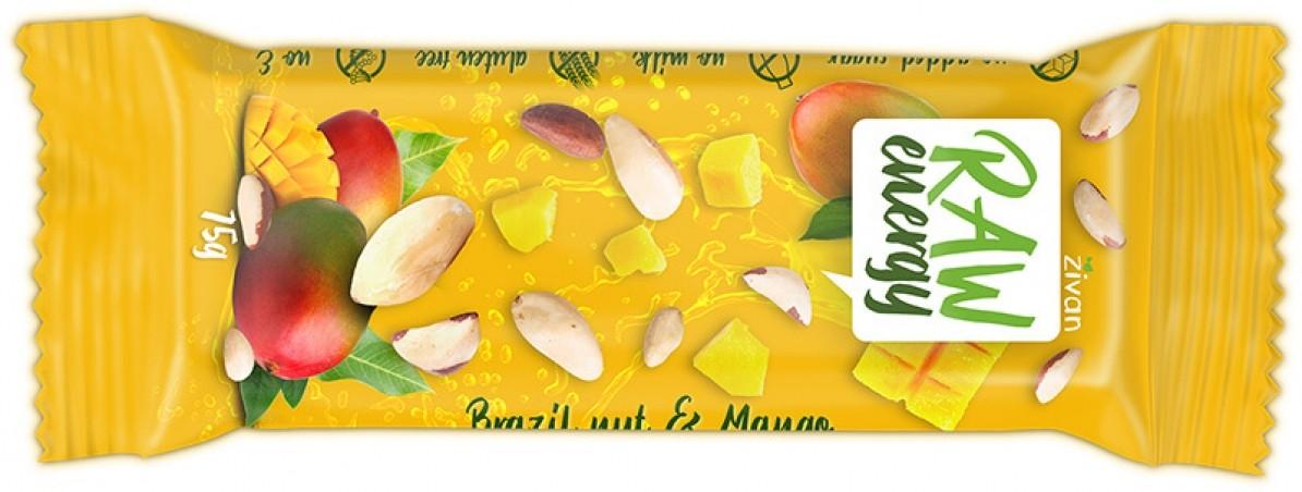 Tyčinka Živan - Para orechy a mango