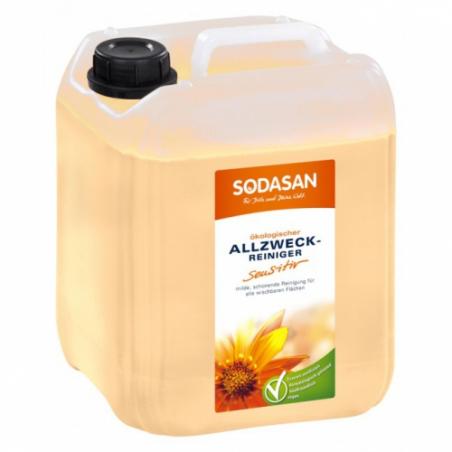 Univerzálny čistiaci prostriedok SENSITIVE s BIO rastlinnými olejmi 5l