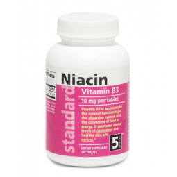 Vitamín B3 Niacín 10 mg, 750 tabliet