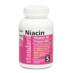 AKCIA SPOTREBA: 01/2020 Vitamín B3 Niacín 10 mg, 750 tabliet