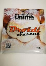 Droždie sušené 10 g BALIARNE UNIMA