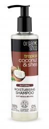 Organic Shop - Kokos & Maslovník - Hydratačný šampón 280 ml