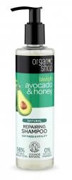 Organic Shop - Avokádo & Med - Obnovujúci šampón 280ml