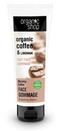 Organic Shop - Ranná káva - Jemný čistiaci pleťový krém