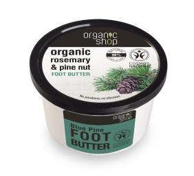 Organic Shop - Maslo na nohy Rozmarín a borovica 250 ml