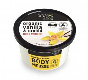 Organic Shop - Vanilka & Orchidea - Telový krém 250 ml