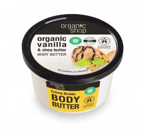 Organic Shop - Telové maslo Créme Brulee 250 ml