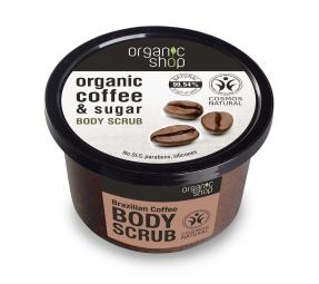 Organic Shop - Brazílska káva - Telový peeling 250 ml