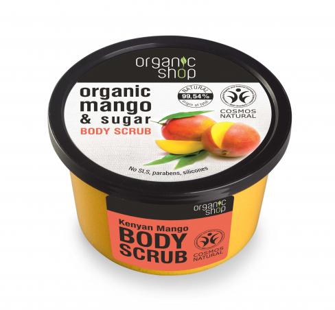 Organic Shop - Mango - Telový peeling 250 ml
