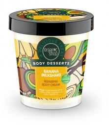 Organic Shop - Banánový koktejl - Telový krém 450 ml