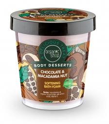 Organic Shop - Čokoláda & Makadamovy orech - Pena do kúpeľa 450 ml