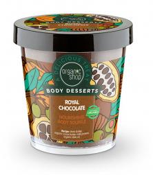Organic Shop - Kráľovská čokoláda - Výživná telová pena 450 ml