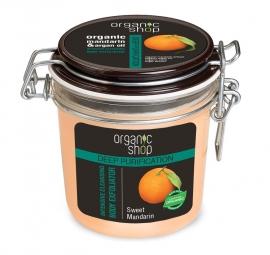 Organic Shop - Sladká mandarinka - Intenzívny čistiaci telový exfoliátor