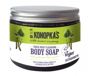 Dr.Konopka´S - Hĺbkovo čistiace husté telové mydlo 500 ml
