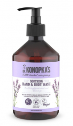 Dr.Konopka´S - Upokojujúce mydlo na ruky a telo 500 ml