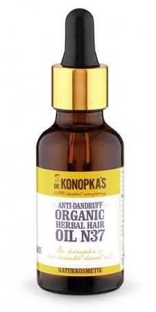 Dr.Konopka´S - Bylinný olej proti lupinám č. 37, 30 ml