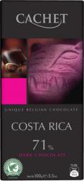 CACHET čokoláda horká COSTA RICA 71% 100g