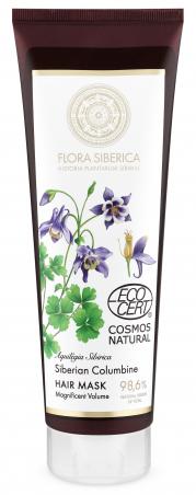 Flora Siberica - Maska na vlasy pre veľkolepý objem