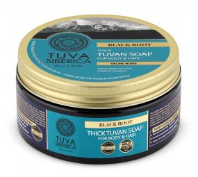 Tuva Siberica - Silné Tuvanské mydlo na telo a vlasy - Čierny koreň