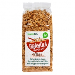 Granola - Chrumkavé müsli  natural 350 g BIO